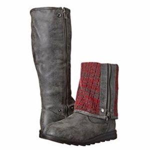 New MUK LUKS Demi Marl Tall Winter Boot